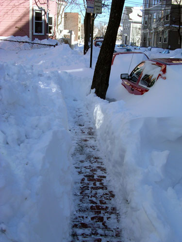 Even this shoveling job would be a blessing; click photo for original location