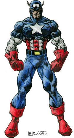 Captain America, Steroids