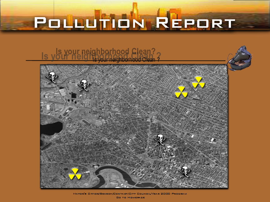 Report on pollution