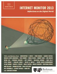 Internet Monitor 2013