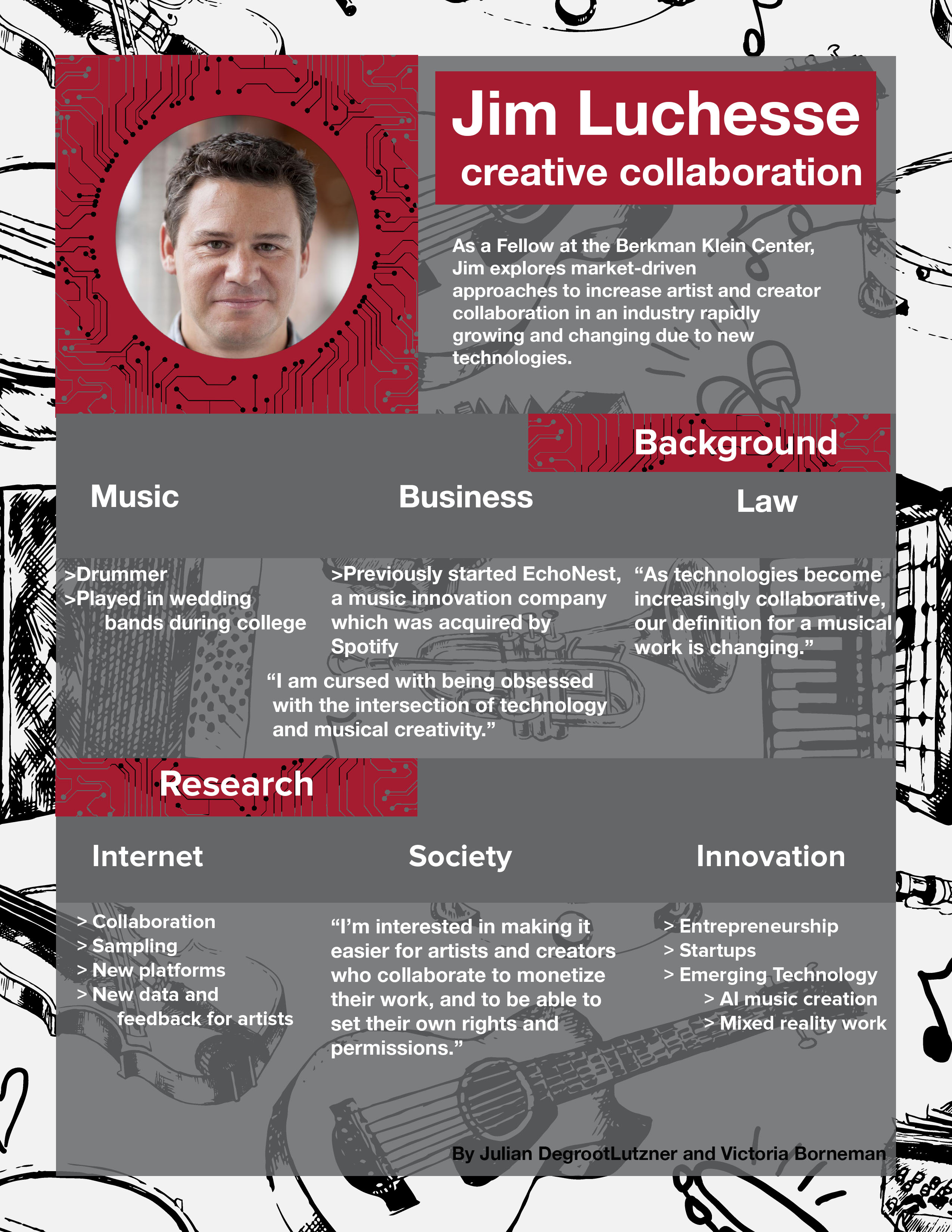Jim Lucchesse Infographic