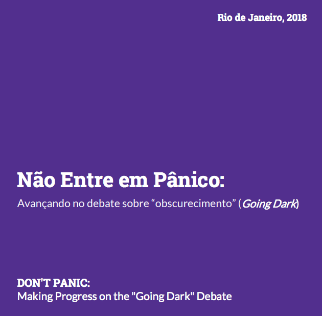 Don't Panic cover