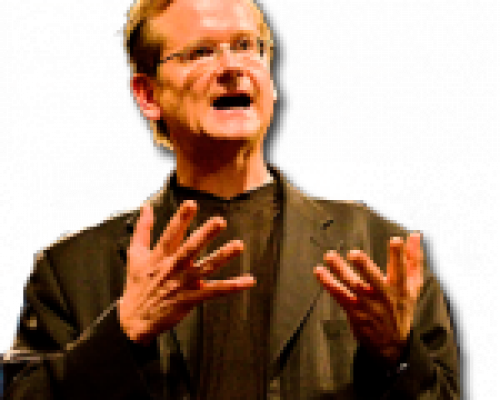 Wireside Chat with Lawrence Lessig: Fair Use, Politics, and Online Video