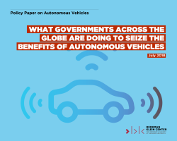 What Governments Across The Globe Are Doing To Seize The Benefits Of Autonomous Vehicles