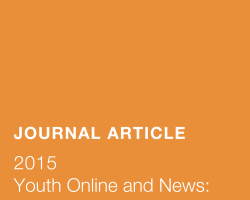 Youth Online and News: A Phenomenological View on Diversity