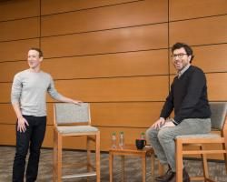 Zittrain and Zuckerberg discuss encryption, 'information fiduciaries' and targeted advertisements