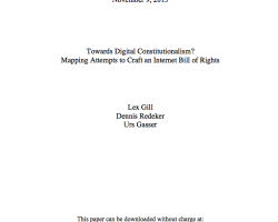 Towards Digital Constitutionalism? Mapping Attempts to Craft an Internet Bill of Rights