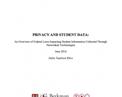 Privacy and Student Data
