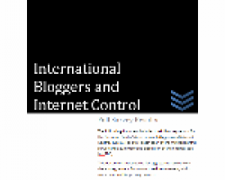 International Bloggers and Internet Control: Full Survey Results