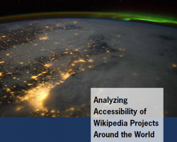 Analyzing Accessibility of Wikipedia Projects Around the World